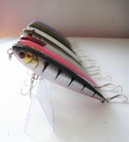 Wholesale - 8cm / 8g  fishing lure fishing bait hard bait  china hook floating ten colours