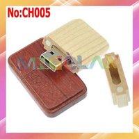 Free shipping Wholesale 1GB 2GB 4GB 8GB 16GB 32GB 64GB Wooden USB Flash Memory Drive Dropshipping  stock #CH005