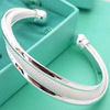 Women's bangle Free Shipping,High Quality, wholesale jewelry,925 Sterling Silver bracelets and bangles,Hot sale,Christmas Gifts