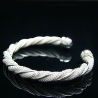 JBB5 Free Shipping/ fashion 925 silver plated jewelry, silver bangles,Nickle free antiallergic,wholesale,factory prices