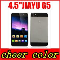 Original Jiayu G5 G5S MTK6592 1.7GHz Octa Core Mobile Phone 2GB RAM 16GB ROM 4.5'' IPS Gorilla Glass OGS 1280*720 13.0MP Camera