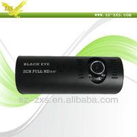gps car dvr,Dual lens Car dvr camera, Video car recorder, night vision camera for car  H990