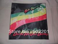 Free Shipping!! Bob Marley Bandana 100% polyester microfibre 3