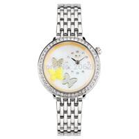 MN1096Y MINI watch 3D butterfly watch DIY matel Quartz Ladies watch 1pc+free shipping