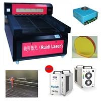 Guangzhou Ruidi Top Sale RD1325(1300X2500MM) 150Watts  Flat Bed Laser Cutting Machine