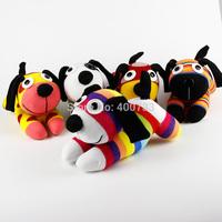 Christmas New year gift 100% handmade DIY stuffed sock animals doll baby toys rainbow dog