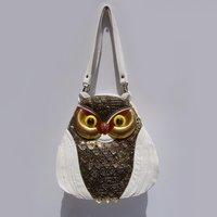 Free Shipping, Owl Bag, Fashion Owl Shaped Design Ladies' Handbag, Owl School Backpacks, CH039
