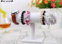 (MIN ORDER $10) Jewelry display Rack bangle bracelet watch bracelet T bar white high quality jc jewelry bangle holder