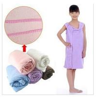 Creative magic bath towel baby children bath towel microfiber can be worn wholesale
