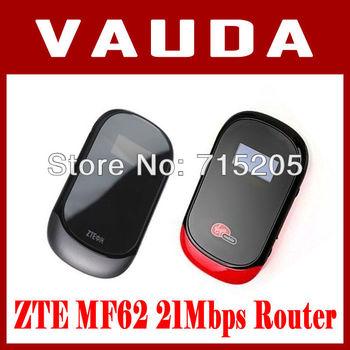 3G MF62 21.6Mbps ZTE GSM Mobile Broadband Hotspot WiFi Wireless Router PK MF60 MF61