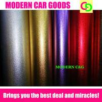 wholesale matte glitter chrome film car wrap vinyl with air free channels