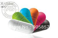 Free shipping 200pcs/lot  2013New Vibration Stereo mini Speaker MP3 MP4 Computer Cellphone Speaker musticker portable