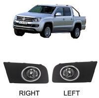 Fog Light for 2011+ VW Amarok Full Kit Include Brackets Switch Wire Harness Helogen Bulbs Free Shipping