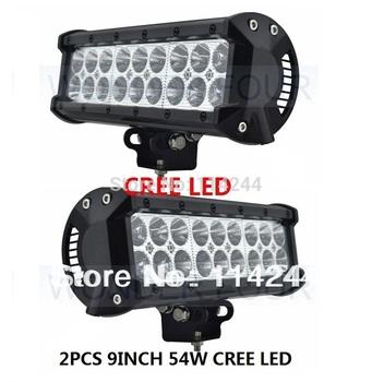 Wholesales Price,USA Cree LED 18pcs*3w 54W LED Off road Light bar,LED Light bar for offroad