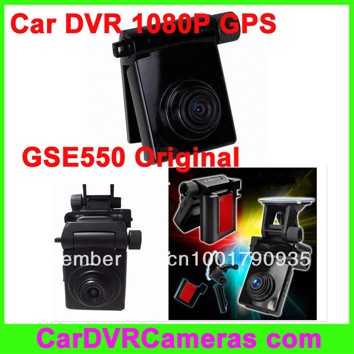 Original full HD 1080P 30FPS Car DVR with GPS GS600, 120 degree view angle, H.264 format, GPS logger, free shipping.(China (Mainland))