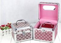 Portabale Stylish Toiletry Cosmetics Case, Makeup Box, Beauty Organizer, Factory supply.