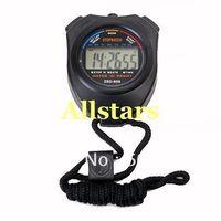 Free Shipping Brand New Sports Digital Stopwatch Chronograph Timer