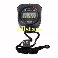 Free Shipping Brand New Sports Digital Stopwatch Chronograph Timer