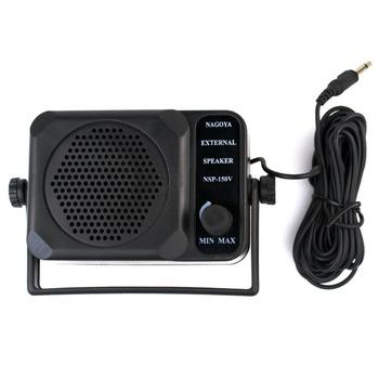 5pcs/lot Mini External Speaker NSP-150v ham For Kenwood Motorola ICOM Yaesu Walkie talkie two way CB Ham Radio J0075A Fshow