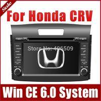 "7"" Head Unit Car DVD Player for Honda CRV CR-V 2012 2013 with GPS Navigation Nav Radio Bluetooth TV Map USB AUX 3G Stereo Audio"
