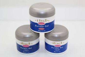 3 X 2oz Pink Clear White UV Gel Nail Art Builder Set Glue False Tips Free Shipping