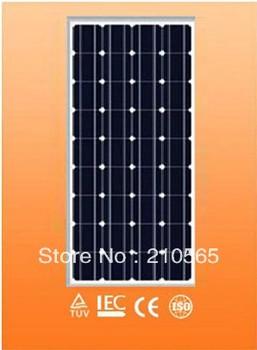 A Grade Solar Mono cells 2pcs/Lot 80W Monocrystalline Solar Panel total 160W Solar PV Module (CE & TUV Certificate)