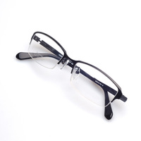 Half rim pure titanium memory unique glasses free style (120520) Mix color OK