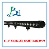20 Pcs 200W Led work light/work lamp DC12V/24V Off road LED driving lights bar Vehicle front bumper/roof light bar