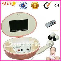 Free Shipping + 100% Guarantee!!! Skin Analyzer Magnifier, Facial Skin Tester Machine with 50X and 200X