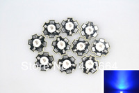 50pcs/lot 1W led blue LED Light High Power LED Beads with 20mm Star Platine Base for DY