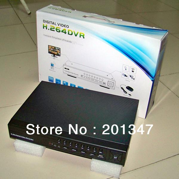 CCTV DVR Digital Video Recorder and Complete CCTV System Kit + Seagate SATA 500GB Hard Drive Disk(China (Mainland))