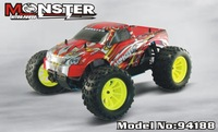 HSP 94188 4WD 1/10th Scale Nitro Off Road Monster Truck-Pivot Ball Suspension 2.4G radio
