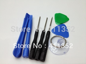Free Shipping 10sets/Lot Repair Opening Tool Kit With 5 Point Star Pentalobe Torx Screwdriver for iPhone 4 4G