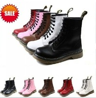 Free shipping women or mens 5 colors warm winter DC AIZ WSIN  boots shoes winter genuine leather lace up ankle boots HOT