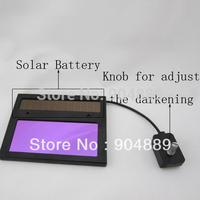 2013 promotion hot selling outside control welding filter darkening state Solar Auto Darkening Welding mask  Welding helmet