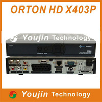 ORTON hd receiver X403P receiver satellite dvb s2 mpeg4 hd receiver cccam rceeiver dvb s dongle sharing hd satellite receiv