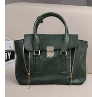 Genuine leather handbag for women+Multifunctional+Women leather handbags+Cowskin Leather bags handbags women famous brands 2014
