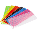 Free Shipping New Arrival Silicone UK EU Keyboard Cover skin For Macbook White Air Pro 13/15/17