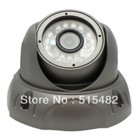 Free Shipping !Sony  Effio-e 700tvl 24leds IR 3.6mm lens Metal Housing indoor/Outdoor CCTV dome camera