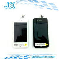 30pcs/lot Free shipping for iPhone 4 4G LCD Display+Touch Screen Digitizer +Frame,white and black,100% gurantee