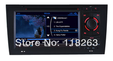Factory price 7 inch Digital Touch Screen HD For Audi A6 S6 Car DVD Player Stereo Radio with GPS navigation fast delivery
