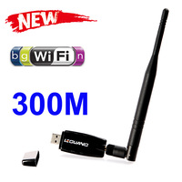 300Mbps 300M USB Wireless WiFi Adapter With External Antenna Computer & Networking Accessories Free Shipping Wholesale