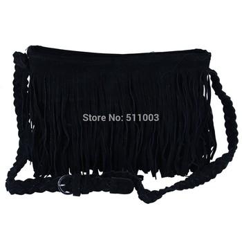 Hot sell Tassel Women Messenger Bags Cross Body Fashion Women Leather Handbag 2015 Shoulder Bags