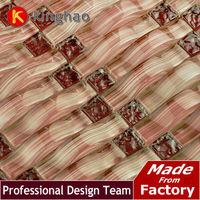 [KINGHAO] kitchen backsplash KAR18 glass mosaic tile kitchen glass tiles pattern