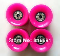 Free Shipping PINK  Penny Skateboard Wheel kateboard Wheel longboard wheels 60Mm*45MM