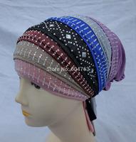 A076 Muslim Hijab, Muslim scarf ,Islamic hijab& hat free shipping