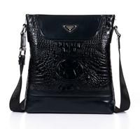 In stock 2013 brand messenger bag vintage postman bag Fast shipping School leather bag genuine for man the bag Danjue D8721-3