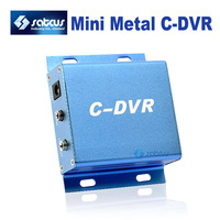 Free Shipping ! CCTV Camera Adapter Metal Mini C-DVR support up to 32GB TF Card Recorder Surveillance Camera 640 x480