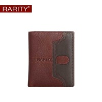 2013 fashion new Free Shipping  Brand Rarity Genuine Leather men Wallet for man purse Money Clip Coffee gift for man WRC0034