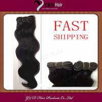 Body Wave Weft  Peruvian Hair #1BNatural Black 100% Human Hair  for women Beauty Hairsalon Full Head 100g/pc